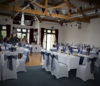 A recent wedding reception